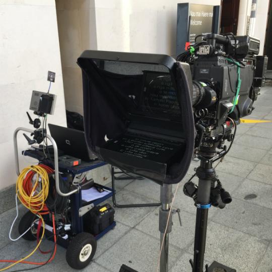 wireless steadicam teleprompter